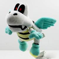EMS 100PCS/Lot Free Shipping 2014 Cute Super Mario Bros. 18cm Plush Flying Winged Dry Bones Soft Toy Stuffed Animal