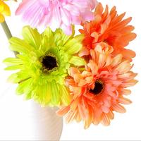 wholesale high quality Gerbera Daisy silk flower artificial flowers Living room decorative sunflower