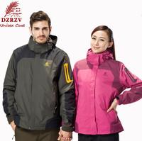 TOP Quality Outdoor Jackets For Women and Men Overcoat Splice Outerwear Hoodie Sport Unisex Coat Waterproof Men's Jacket