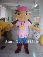 High quality Jack and the Neverland Priate mascot costume custom fancy costume anime cosplay kits mascotte theme carnival costum