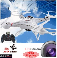 DFD F183 4CH 2.4Ghz 6AXIS Throw Flight RC Helicopter Remote Control Quad Copter Toys 200 w pixel HD camera  Free Shipping