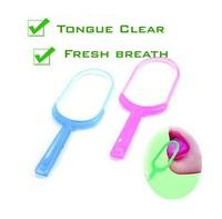 Plastic Hygiene Mouth Care New Oral Tongue Cleaner Scraper Fresh breath maker oral hygiene personal care