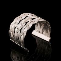 2015 NEW Fashion metal bracelet gold and silver plated bracelets