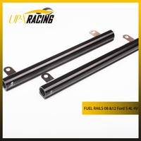 auto fuel rail Black Aluminum Fuel Rails suit for 2008 & 2012 Jet engine 5.4L 4 Valve AN8 ports