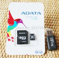 EMS Real Capacity Memory cards Class 10  32GB 64GB Micro SD Card Flash TF card Pen drive  + Free Adapter 100Pcs/lot