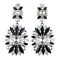 High quality Green Orange Rhinestone Crystal & Acrylic earrings,Accessories Earing for Woman,Fashion Designer