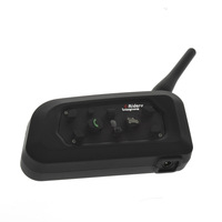 Free shipping 1 x BT 1200M Motorcycle Helmet Bluetooth Intercom Headset Connects upto 6 riders support GPS/MP3 from Vnetphone
