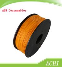 Newest Arrived Orange 1.75mm ABS 3D Printer Filament 1KG 3D Printers Consumables plastic Rubber