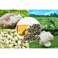 Premium fujian jasmine ball tea 400g/bag  chinese blooming jasmine flower scented green tea free shipping