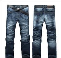 New men's jeans male straight cylinder self-cultivation Korean tide winter men's feet leisure cowboy pants