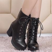 2014 Top sale platform anti-slip boots shoes