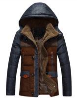 FREE SHIPPING cotton coats men winter jackets down-jacket down coat winter coat men parka men NF jacket men