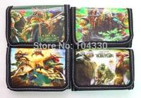 Teenage Mutant Ninja Turtles cartoon 24 pcs children short wallet bag purse new