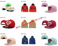 New 2015 Brand New Men and Women Adjustable Hip Hop Leopard Leather Diamond Snapback Snap back Baseball Caps Hats (100 Colors)