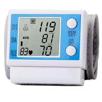 High Quality Wrist sphygmomanometer blood pressure monitor free shipping