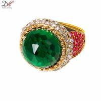 Daihe Brand RN4020 Vintage Turkish Multi Gems Amethyst Emerald Ebay Hot Sale Rings anel for Women Wedding Jewelry