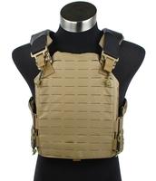 TMC Strandhogg Plate Cut Plate Carrier Tactical Vest  (CB) molle 1000D Nylon Vest free shipping