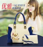 Smiling face han edition brand handbag fashion portable bag lady one shoulder inclined shoulder bag W007