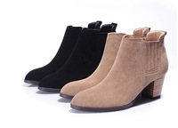 Best selling fashion nubuck leather ladies boot shoes
