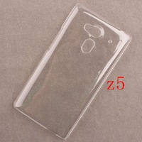 100% Transparent Clear Hard Phone Cases for Acer liquid Z5 Crystal Back Shell Covers For Acer liquid Z5 Plastic Case Accessorie