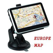 4.3 inch Car GPS Navigation FM Transmitter MTK 4GB Capacity UK EU AU NZ Maps Speedcam POI With Europe Map ZDA1108B