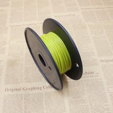 Yellow Color 3D Printer Filament ABS 50M plastic Rubber Consumables Material MakerBot/RepRap/UP/Mendel
