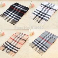 winter & spring fashion brand men burb scarf man shawls wrap,cashmere scarves,tassels stpried & plaid scarfs
