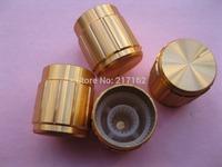 150 Pcs Per Lot Circular Knob Gold Aluminium Cover 16x15mm Gold Color Brand New High Quality HOT Sale