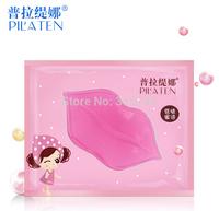 Factory Price!10,000Pcs/lot PILATEN Authorized Women Collagen Crystal Lips Mask Moisturizing Anti-Wrinkle Lip Care
