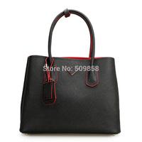 New arrival women handbag shoulder bag genuine leather Saffiano bag
