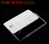 New Ultra-Thin TPU Slim Transparent Clear Case For Samsung Galaxy Note 2 N7100 Note 3 N9000 Note 4 N9100 Silicon Phone Cover S52