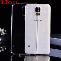 New 0.3mm Ultra-Thin TPU Slim Transparent Clear Case For Samsung Galaxy S3 i9300 S4 i9500 S5 i9600 Silicon Phone Cover S53