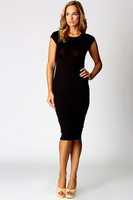 Fashion Slim OL Casual Pencil Dress Woman Sexy Bodycon Sleeveless Elegant Party Dresses Vestido