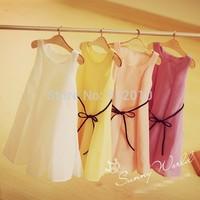 Free Shipping BJD Doll Four colors Chiffon Dress for BJD Doll 1/4 MSD,1/3 SD10/13,SD16 LUTS.AS.DZ.Super Dollfie Doll Clothes