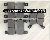 Motorcycle front rear brake Pads plate complete set for Honda CBR 900 RR Fireblade 98-03 1st CBR 929 RR 929CC