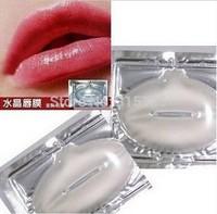 DHL free shipping 2000Pcs/lot Women Crystal Collagen Lip Mask Collagen Protein Crystal Moisturizing Lip Film