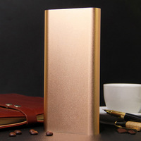Gold High Capacity for Xiaomi Power Bank 20800mah Portable Rechargeable External Battery Charger Pack For All Mobile Phone