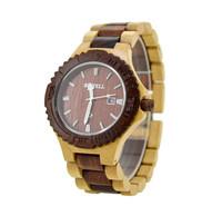 Top Quality Relogio Feminios Wooden Watches for Men Luxury Brand Japanese Miyota Quartz Movement Men's Watch Free shipping
