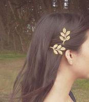 New Arrive Leaf Hair Clip Bride Hair clip Women's Hair Accessories 86305