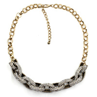 NEW 2015 Hight quality crystal Geometric necklace chunky chocker collar necklace for women jewelry wholesale price HOT SALE