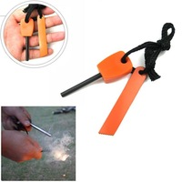 Magnesium Flint Striker Stone Fire Steel Starter Lighter Survival Kit Camping