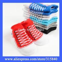 1 Pair All Season Cotton Baby Socks Sweet Children Boys Girls Sock For Sport Fit For 0-1 Years Old -- SKA32 PA44 Wholesale