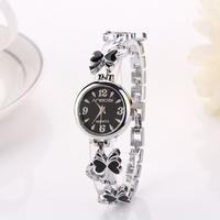 Silver fashion 2015 new luxury design fashions quartz watch for female women dress Clock relogios relojes Feminino ClockXR716