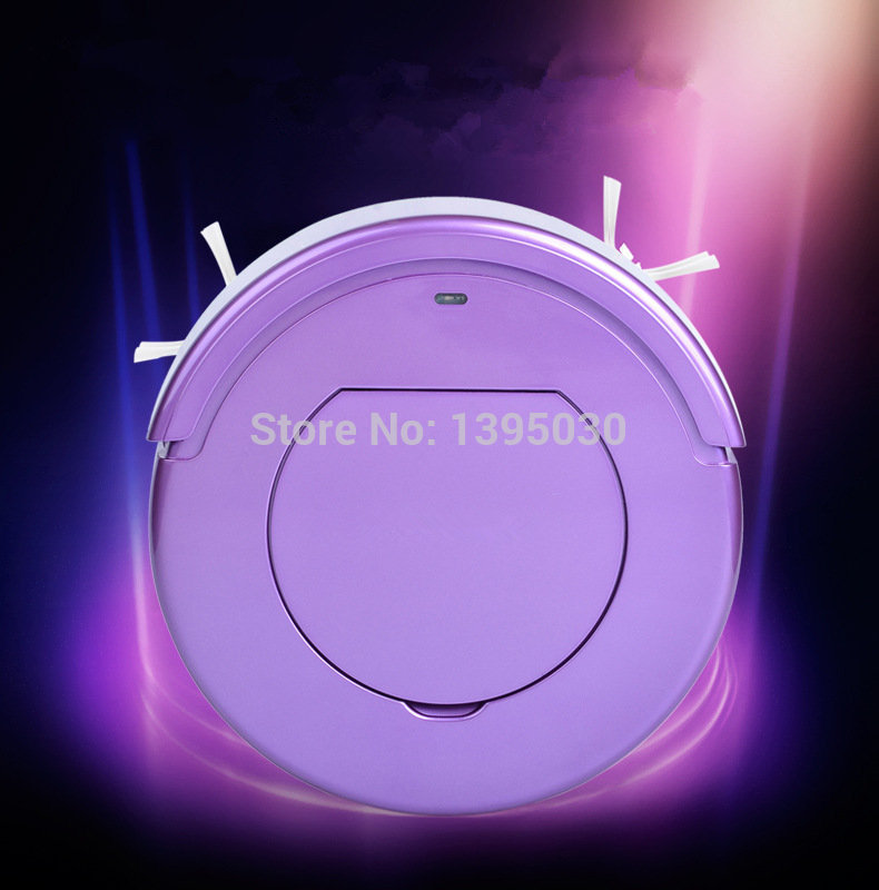 Free Shipping By DHL 1PC KRV205 Ultra-Thin Intelligent Robot Household Automatic Efficient Vacuum Cleaner(China (Mainland))