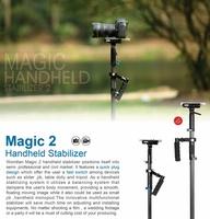 Wondlan Steadicam 1-5kg Magic2 Carbon Fiber Stabilizer Handheld Steadycam MAG201