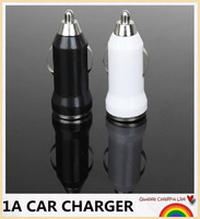 5V 1A mini usb car charger for apple iphone 5 5s 4 4s Cell Mobile Phone Charger Adapter 500pcs/lot #cc001