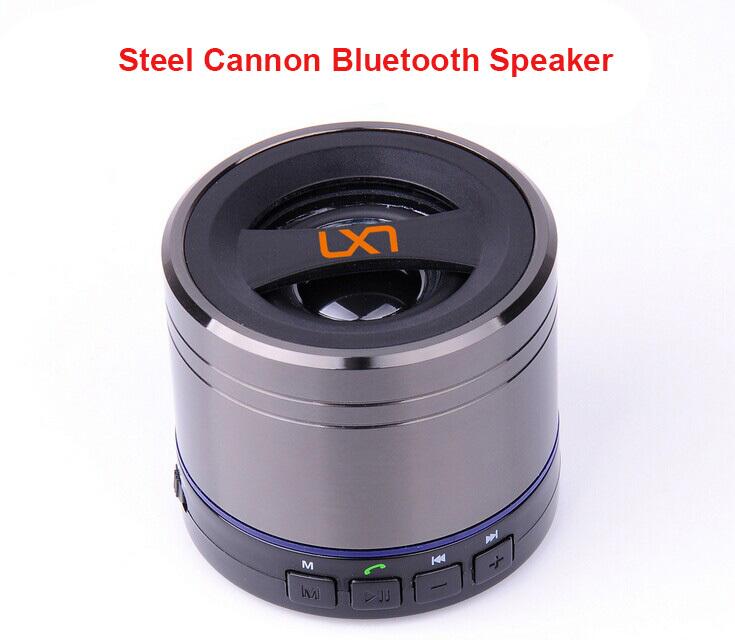 2015 LX novo tipo elaborar multi-funcional Mini canhão Bluetooth 3.0 Mega saída de graves Speaker Car Kit viva voz Bluetooth(China (Mainland))