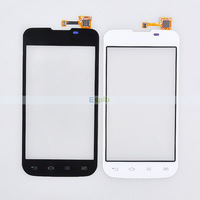 100% Original Digitizer Touch Screen for LG Optimus L5 II E455 with Flex Cable by DHL 50pcs/Lot
