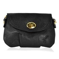 2015 New arrival Vintage PU Leather Satchel Purse Shoulder Messenger Cross Body Bag Black for top quality