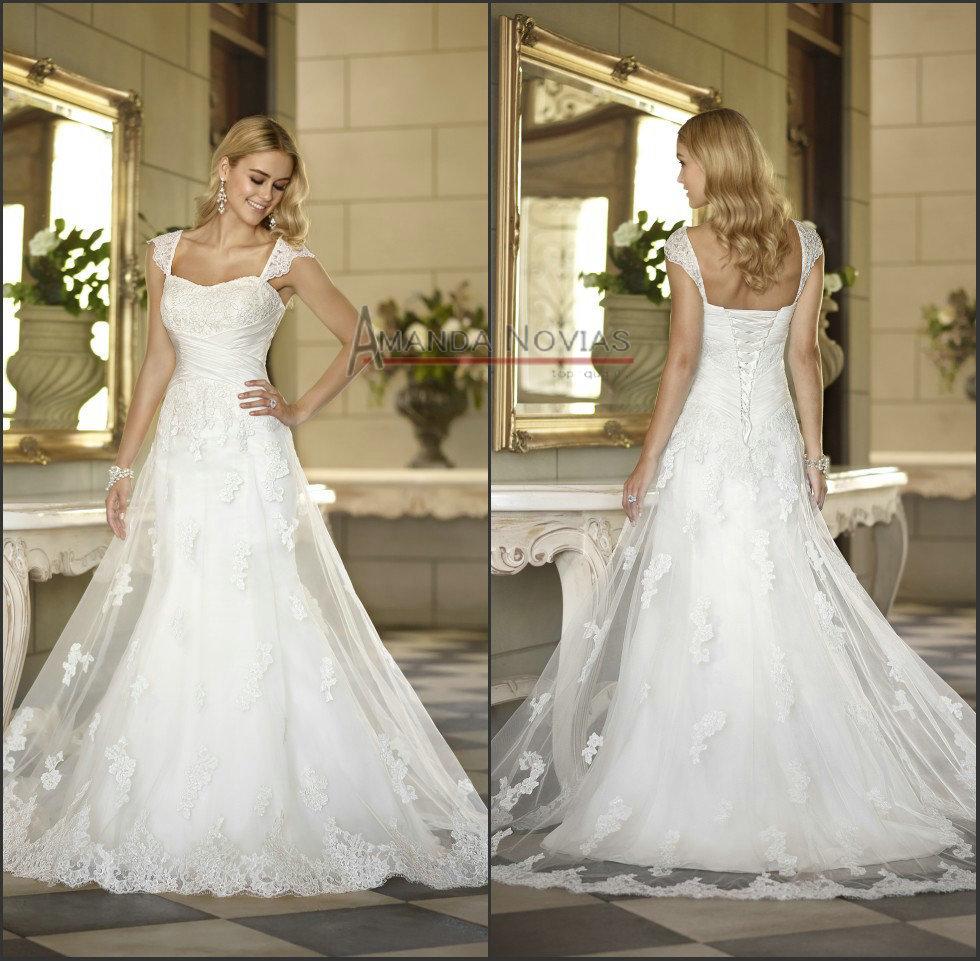 Famous Wedding Dresses Lace